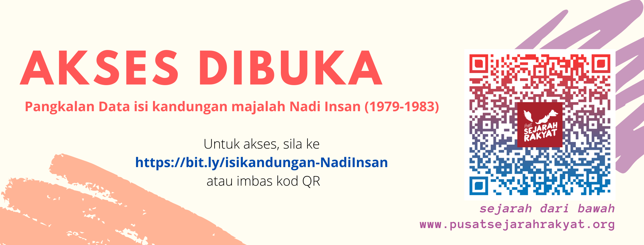 Photo of Dibuka: Pangkalan Data isi kandungan majalah Nadi Insan (1979-1983)