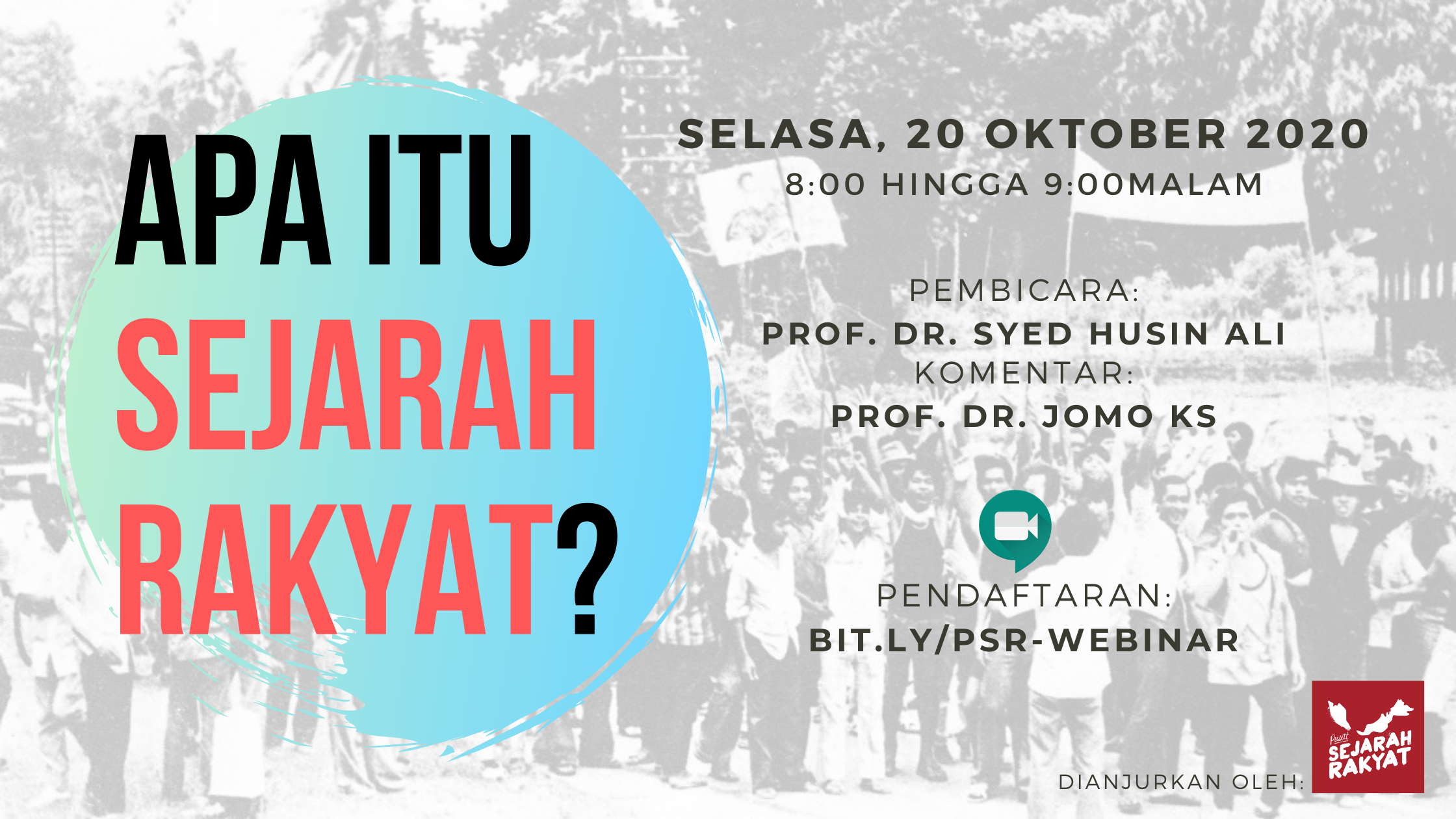 Photo of [Webinar] Apa itu Sejarah Rakyat? Dr. Syed Husin Ali (video)