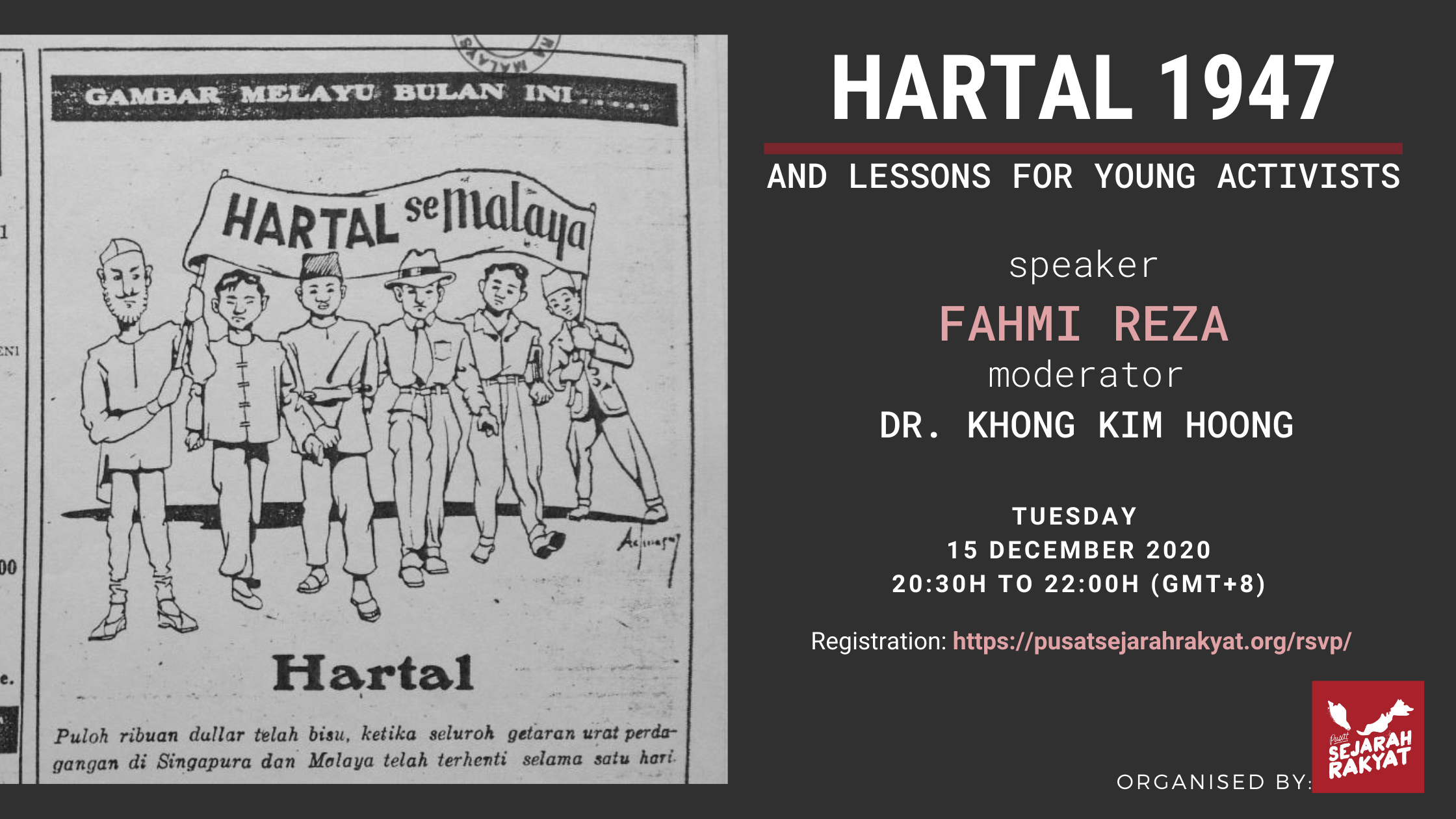 Photo of [Webinar] Hartal 1947 & Lessons for Young Activists