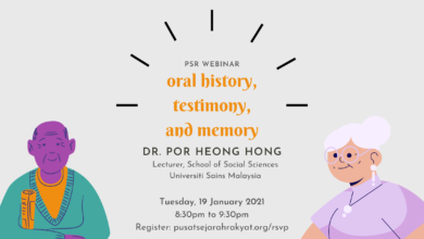 Photo of [Webinar] Oral history, testimony, and memory (video)