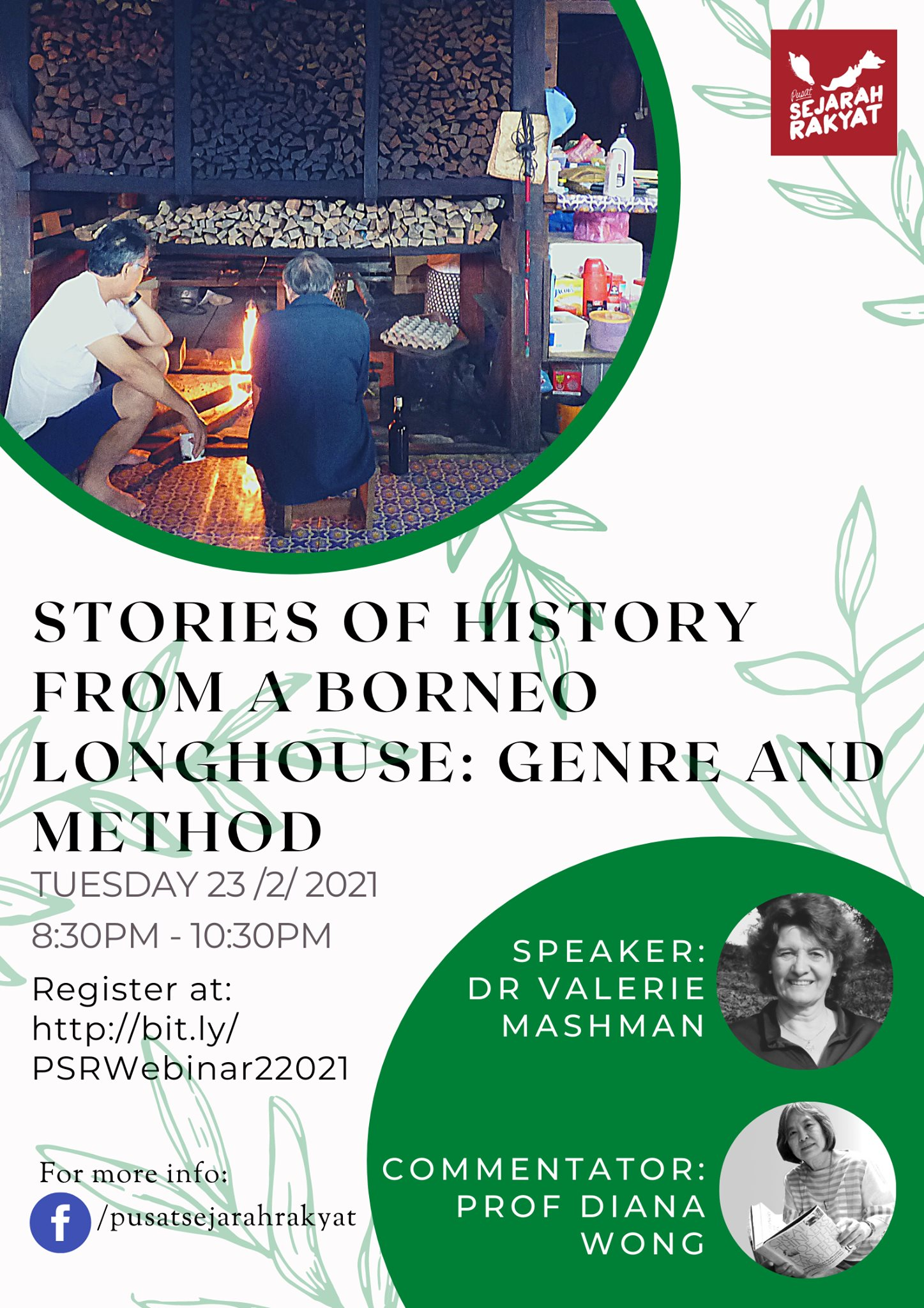 Photo of [Webinar] Stories of History from a Borneo Longhouse: Genre and Method (video)