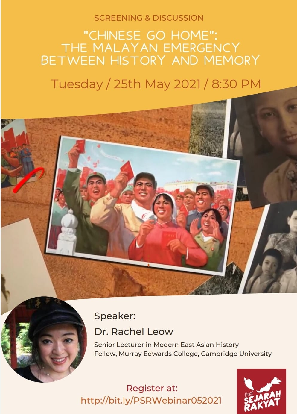 """Photo of [Webinar] """"Chinese Go Home"""" – The Malayan Emergency between history and memory (video)"""